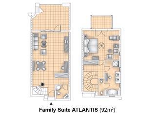 Aldemar Olympian Village - Royal Olympian - ATLANTIS Suites Sharing Pool - Royal Olympian