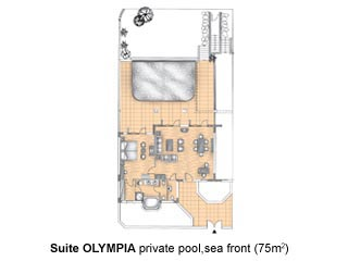 Aldemar Olympian Village - Royal Olympian - Olympia Suites - Private Pool - Royal Olympian