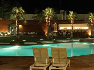Casino Xanthi Hotel - Swimming Pool at night