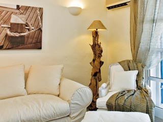 SunPrime Miramare Beach - Sitting room of waterfront villa