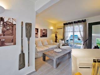 SunPrime Miramare Beach - Living room of waterfront villa