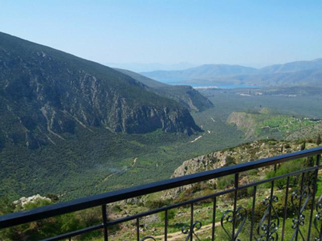 Acropole Delphi Hotel - View From Balcony
