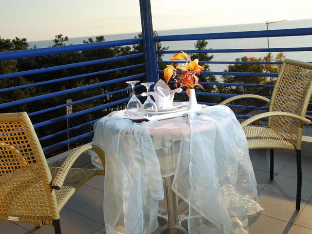Mykonos Paradise and SPA Hotel - Veranda