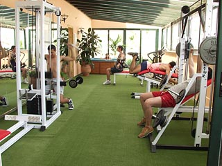Platon Beach Hotel - Gym