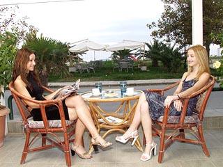 Platon Beach Hotel - Veranda