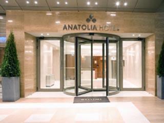 Anatolia Hotel - Entrance