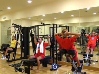 SunMarotel Miramare Beach Hotel - Gym
