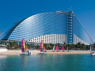 The Jumeirah Beach Hotel & Beit Al BaharExterior View