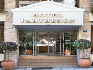 Airotel Parthenon Hotel - Entrance
