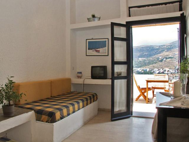 Mare e Vista - Epaminondas Hotel Apartments - Family Apartment lounge