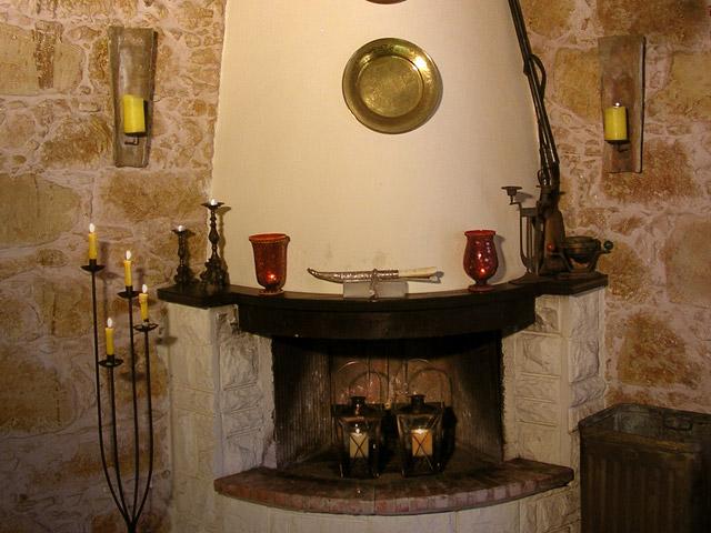 Arhontariki Manor House - Fireplace