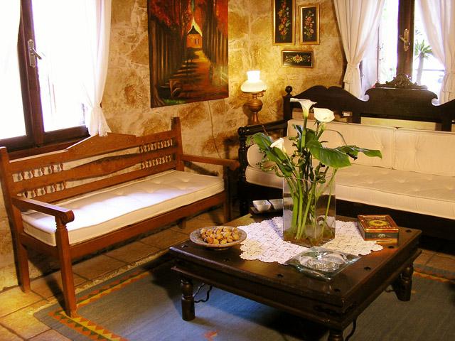 Arhontariki Manor House - Interior View