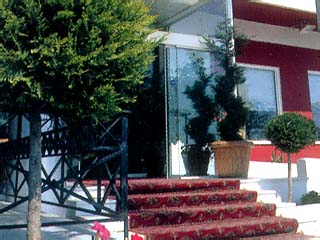 Natassa Motel - Entrance