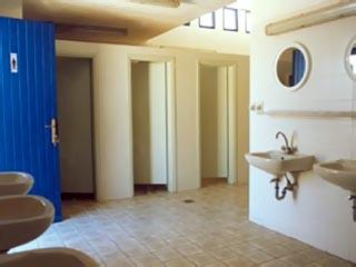 Milos Achivadolimni Camping-Bungalows - Bathroom