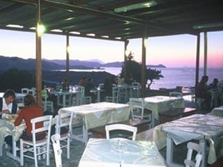 Milos Achivadolimni Camping-Bungalows - Restaurant