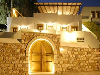 Petra Hotel and Suites - Exterior View at Night