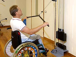 Eria Resort (Hotel for disabled persons) - Gym