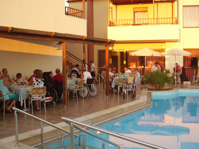 Eria Resort (Hotel for disabled persons) - Pool Bar