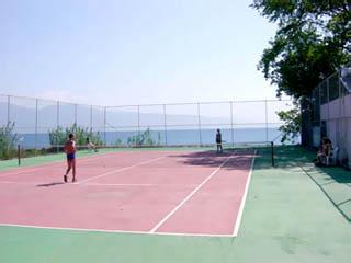 Long Beach Hotel - Tennis Court