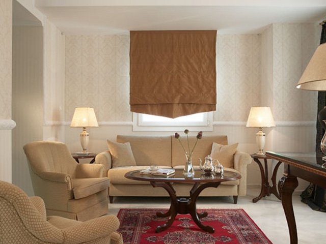 Grand Hotel Palace - Living room