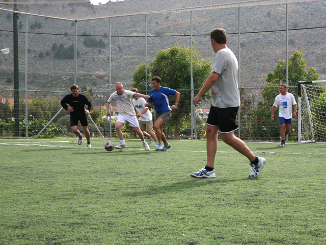 Atlantica Aegean Blue - Football court