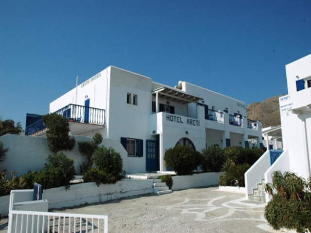Areti Hotel and Areti Studios -