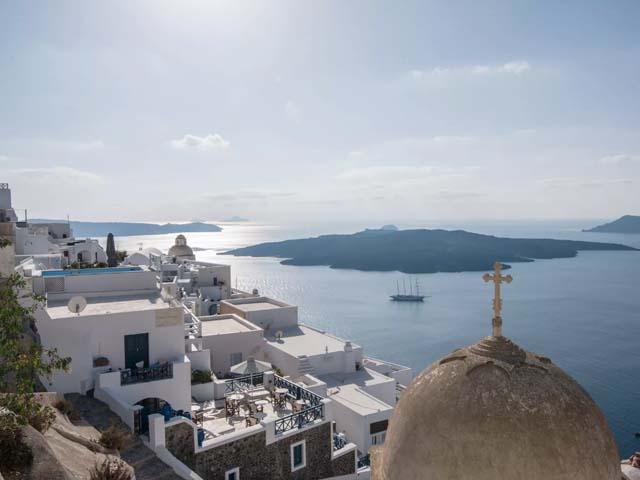 Santorini Reflexions Volcano -