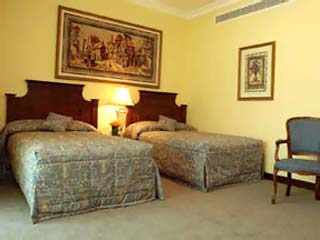 Habtoor Grand Hotel Convention Center & SpaItalian Royal Suite Bedroom