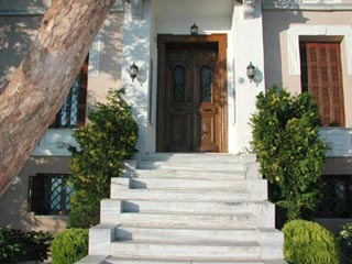 Vogiatzopoulou Mansion - Entrance