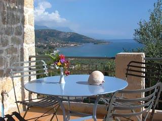 Notos Hotel - View From Balcony