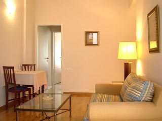 Delice Hotel & Apartments - Two Person Apartment Living Room