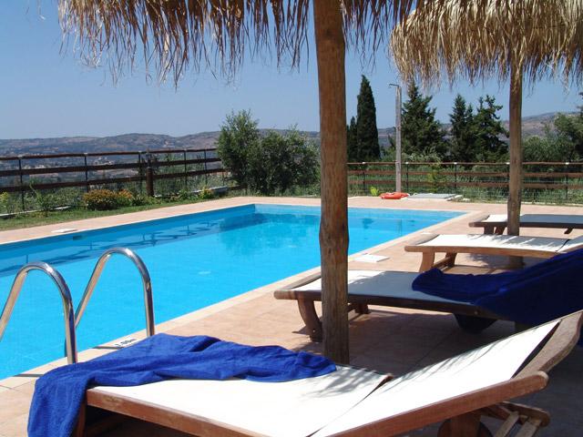 Villa Petra - Pool view