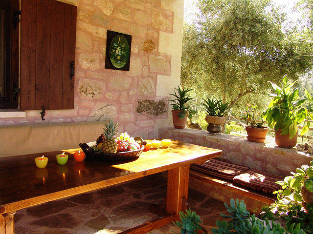 Villa Petra - Yard