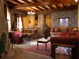 Pyrgos Village - Living Room