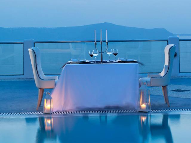 Belvedere Suites Santorini - Dinning Area