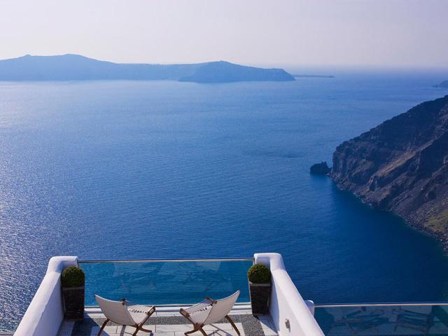 Belvedere Suites Santorini - Balcony