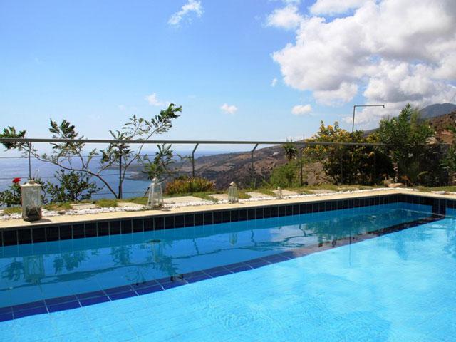 Anemos Luxury Villas - Pool Area