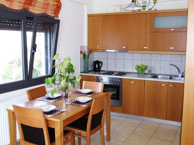 Anemos Luxury Villas - Dining Area