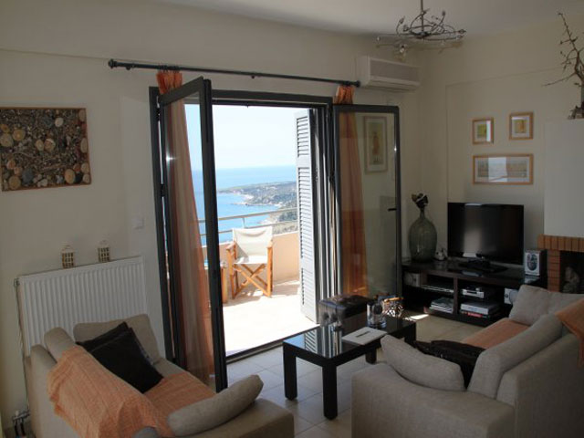 Anemos Luxury Villas - Living Room