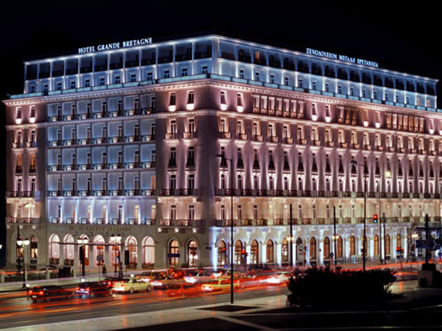Grande Bretagne Hotel - Grande Bretagne Hotel The