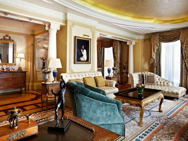 Grande Bretagne Hotel - Presidential Suite - Living Room