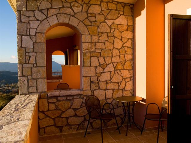 Vytina Mountain View - Balcony