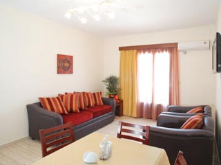 Arkasa Bay Hotel - Luxurius Suite Living Room