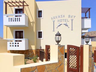 Arkasa Bay Hotel - Exterior View