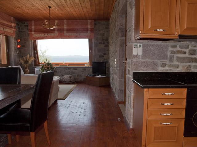 Faros Villa - Stone Villa Living Room