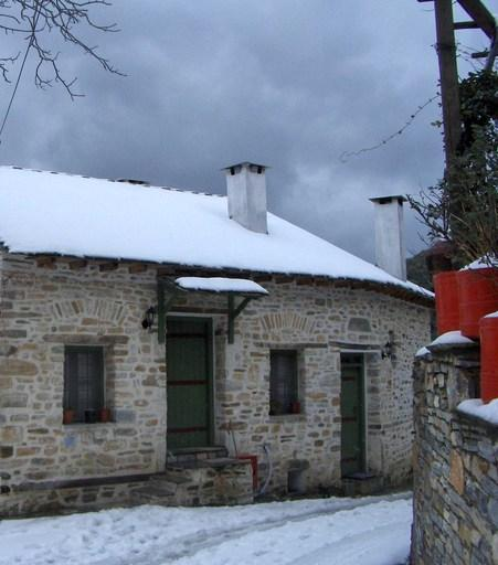 Efipoi Traditional Settlement - Exterior View