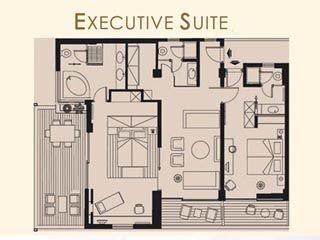 Kyllini Beach Resort - Executive Suite - Plan