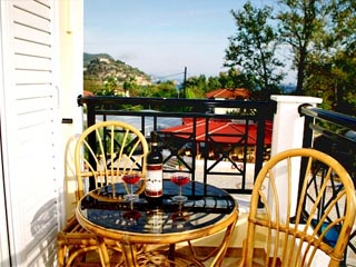 Vyzantio Hotel & Apartments - Balcony