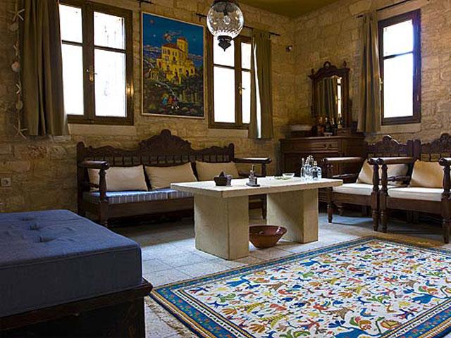 Aoritis Villas - Villa Rogalida Living Room
