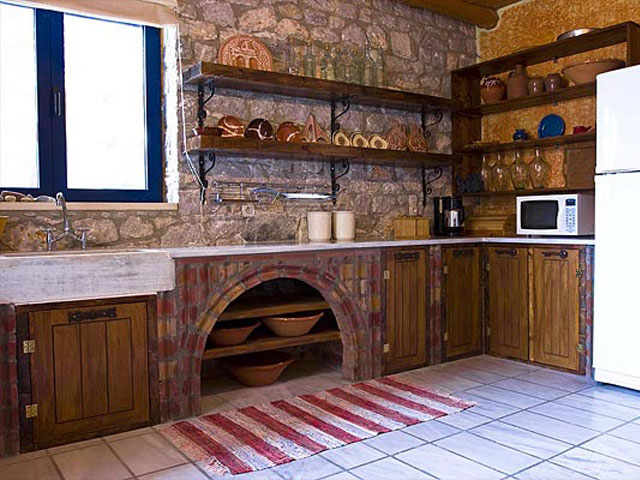Aoritis Villas - Villa Rozare Kitchen